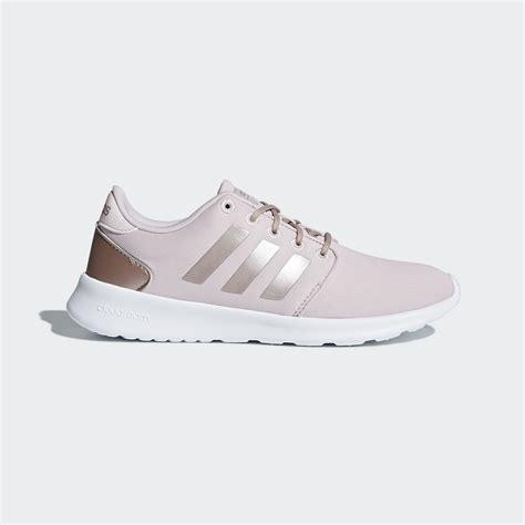 adidas qt racer adidas cloudfoam qt racer shoes pink adidas uk