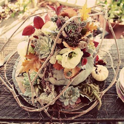 Fall Flower Wedding Centerpieces by 20 Centerpiece Ideas For Fall Weddings