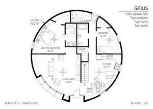 Monolithic Dome Floor Plans by Floor Plan Dl 4305 Monolithic Dome Institute