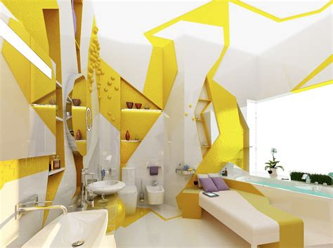 home design yellow yellow white decor compact apartment design interior