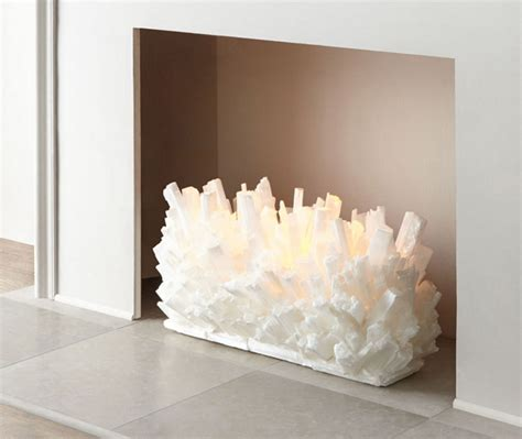 Fireplace Crystals by Glass Fireplace Logs The At Fireplacemall