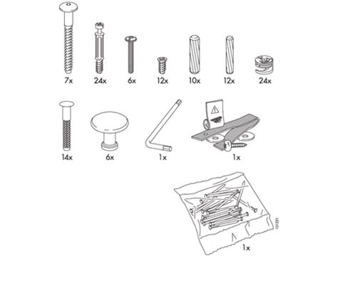 Dresser Parts by Hemnes Dresser Replacement Parts Furnitureparts