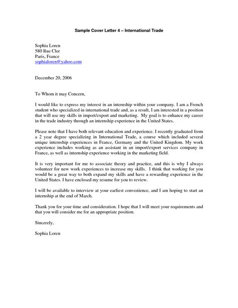 Formal Letter Yahoo Cover Letter Sle Yahoo Cover Letter Templates