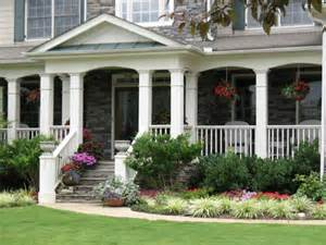 Landscape Ideas In Front Of Porch Ideas To Decorate Your Front Porch