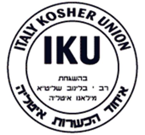 alimenti kosher italy kosher union