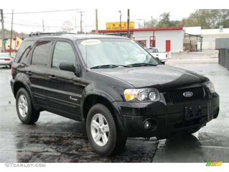 2006 ford escape hybrid 2006 black ford escape hybrid 26996823 gtcarlot