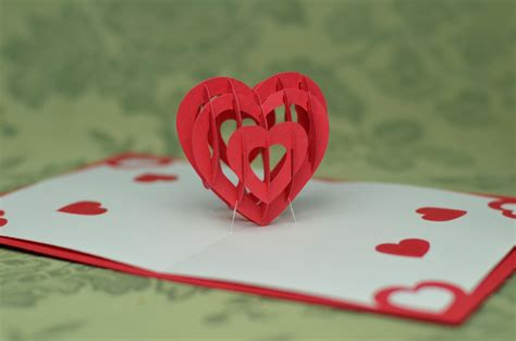3d card templates 3d pop up card template