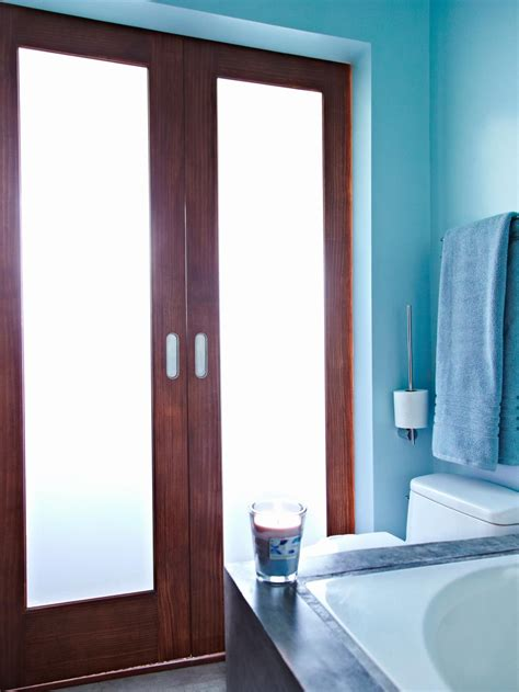 spa blue bathroom cool blue spa like bathroom hgtv