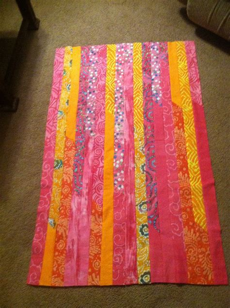 Quilts Made With Jelly Rolls by Jelly Roll Quilt Top I Made Quilts Strips Jelly Roll