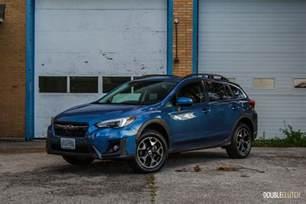 Review Subaru Crosstrek Drive 2018 Subaru Crosstrek Doubleclutch Ca
