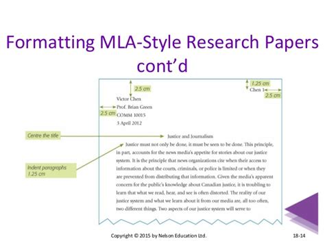 Photo Credit Mla Format Mla Essay Format Requirements
