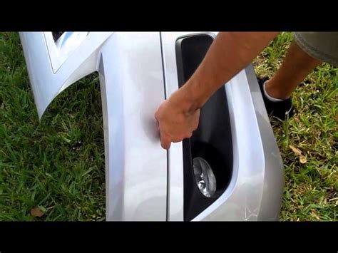 how to install hfp lip kit 2008 2010 accord coupe hfp front aero lip kit install diy