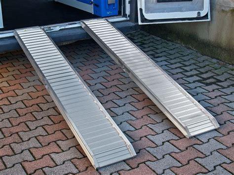 pedane in alluminio re di carico e pedane per furgoni
