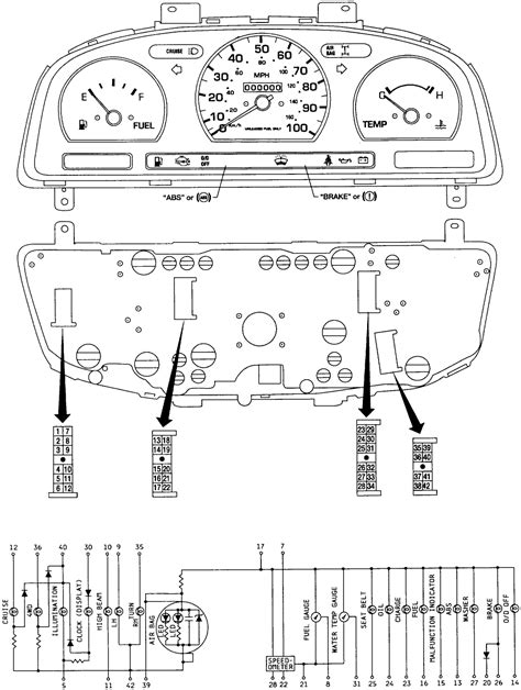d21 hardbody where can i find an instrument cluster wiring