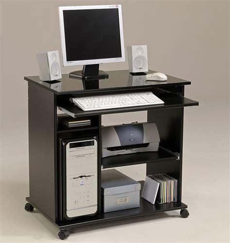 computertisch schwarz computertisch schwarz pepe 2 76x76x50cm pc tisch