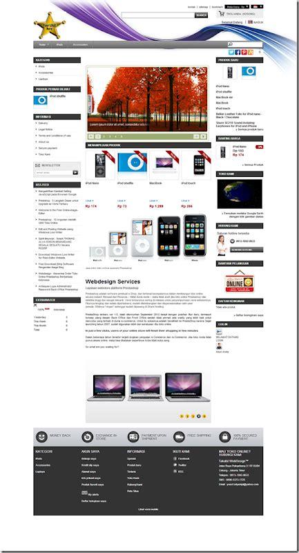 theme toko online prestashop order website store prestashop berbahasa indonesia seo