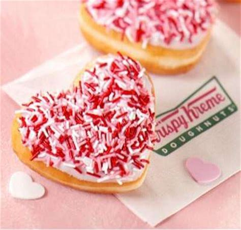 Happy Hearts From Krispy Kreme by Valentines Marketing Hits Food Part Iv Shaped
