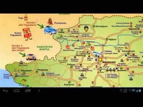 desain gapura batas kabupaten gunung kidul peta wisata gunungkidul youtube
