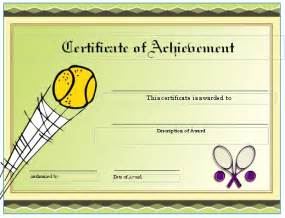 tennis certificate template free free tennis certificates on womens tennis world