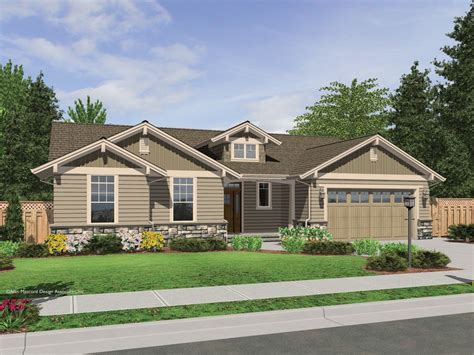 craftsman style ranch house plans the avondale craftsman style ranch house plan with