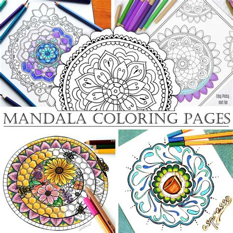 mandala coloring book purpose mandala coloring pages with hattifant hattifant