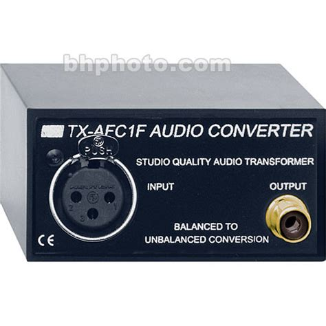 format audio converter rdl audio format converter bal unbal tx afc1f b h photo video