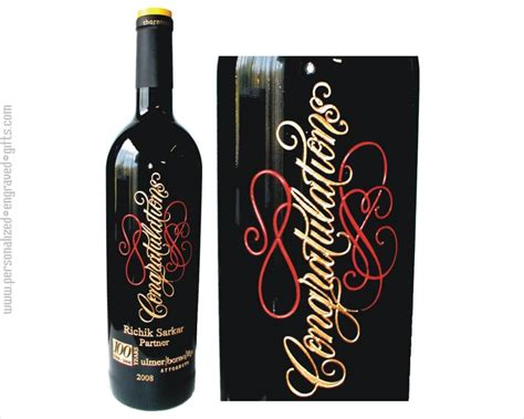 Wedding Anniversary Engraved Gifts by Engraved Wine Bottles For Anniversaries Weddings