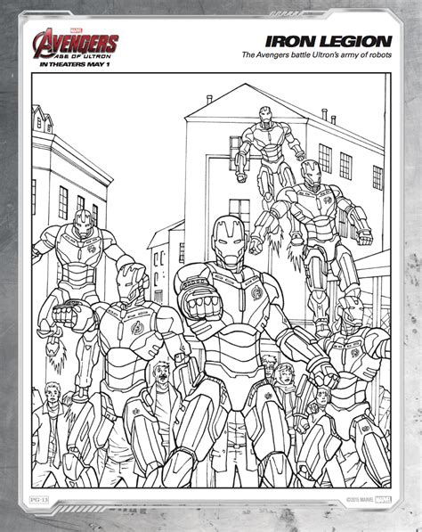 iron man age of ultron coloring pages free printable avengers age of ultron coloring sheets