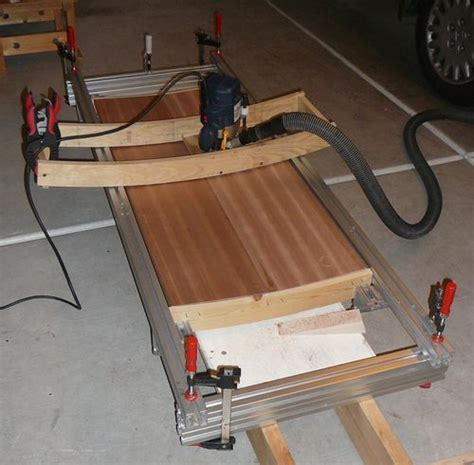 woodworking router jigs convex concave surface router jig by viktor