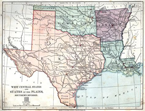 texas in the map texas louisiana map my