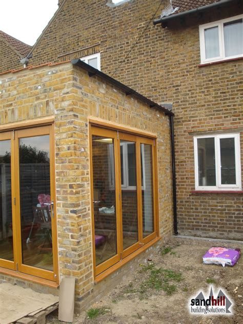 Tiling Ideas For A Bathroom rear house extension in eltham london se9