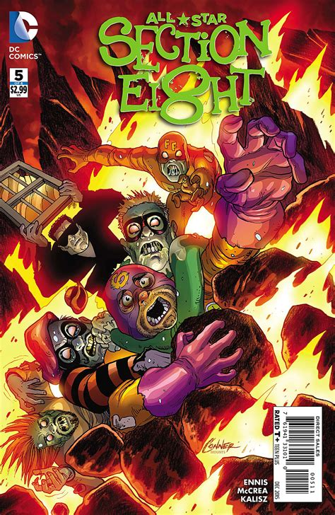 Section 8 Wiki by All Section Eight Vol 1 5 Dc Database Fandom