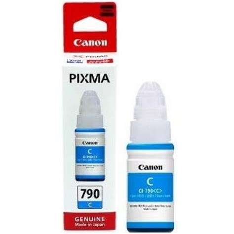 Cartridge Canon 790 Gi790 Gi 790 Gi 790 Tinta Printer Botol Kuning gi 790 ink tank cyan