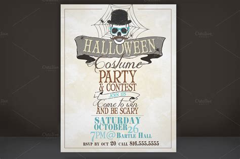 costume flyer templates 20 premium printable templates