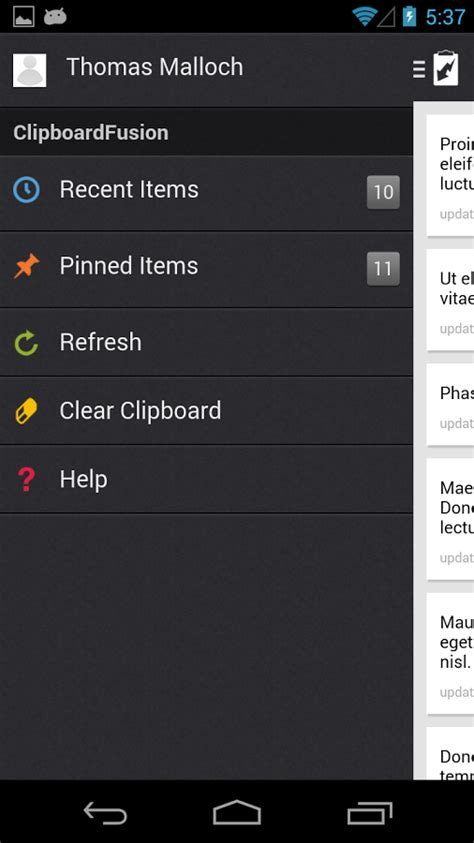 how to clear clipboard android clipboardfusion android apps on play