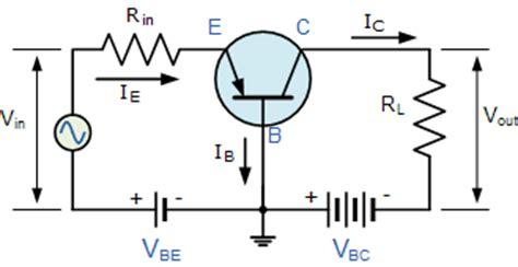 fungsi transistor common base bipolar transistor basics bjt transistor tutorial