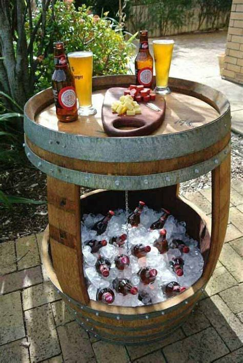 Patio Cooler Table 19 Clever Diy Outdoor Cooler Ideas Let You Keep Cool In The Summer Amazing Diy Interior