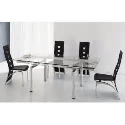 table rabattable cuisine chaises design pas chere