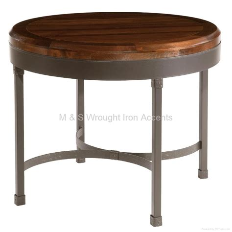 M S Dining Tables Wrought Iron Breakfast Table Mbb 001 M S China Manufacturer Dining Room Furniture
