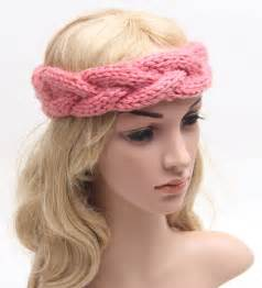 banded headbands popular knitted ear warmer pattern buy cheap knitted ear warmer pattern lots from china knitted