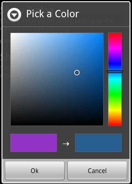 android color picker java android preferencescreen quot color picker