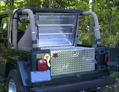 jeep wrangler storage jeep secure storage box gr8tops