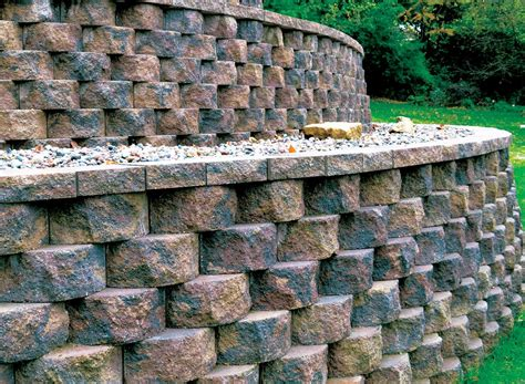 quality retaining wall block by londonstone