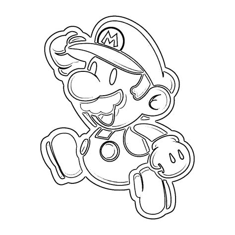 coloring page mario free printable mario coloring pages for kids