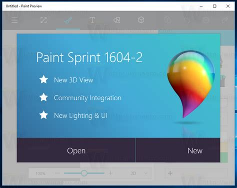 how to and install new paint 3d for windows 10