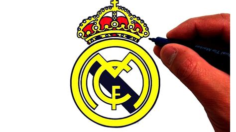 logo real madrid kuchalana how to draw the real madrid c f logo