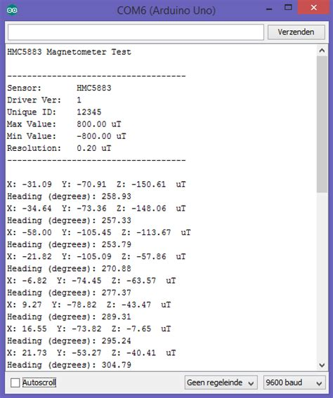 arduino code hmc5883l arduino kompas 3 assen hmc5883l