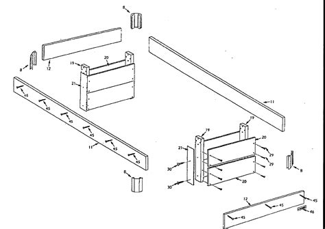 pool table parts diagram legs diagram parts list for model 52725145 harvard parts