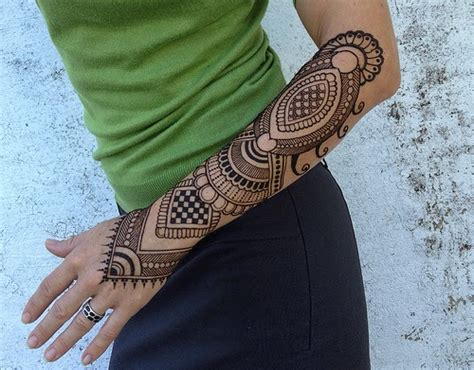 tattoo henna style arm henna mehndi designs for and