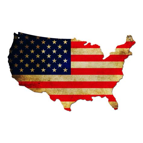 america map with flags plasma cut steel usa american flag map plasma cut steel usa